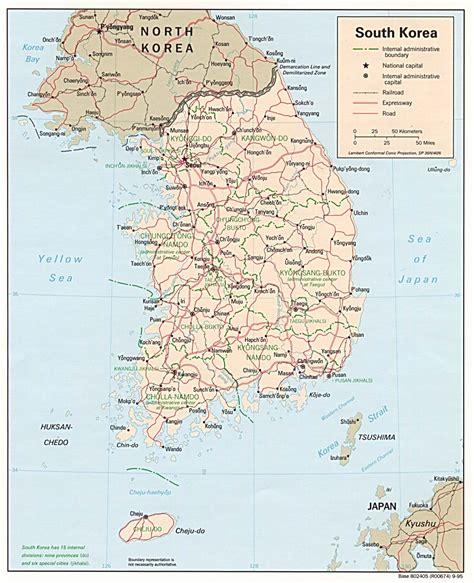 south korea city map south korea map political regional maps of asia regional