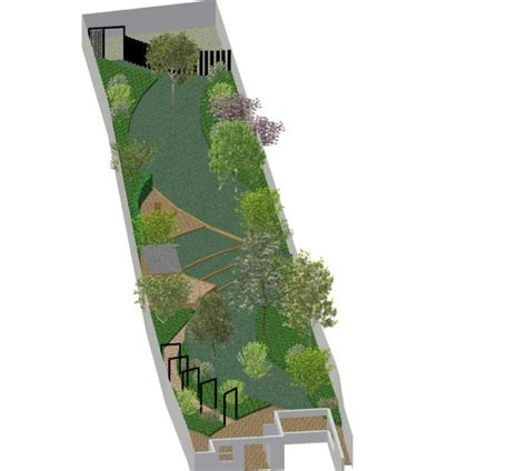 long narrow backyard landscaping ideas a life designing garden design ideas long narrow