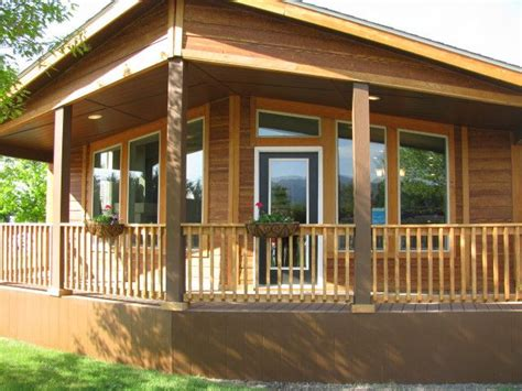 one of my new favorites as palm harbor homes is the the metolius cabin available only in oregon washington