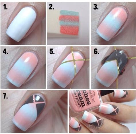 easy nail art with steps 17 best ideas about cool easy nails on pinterest cool