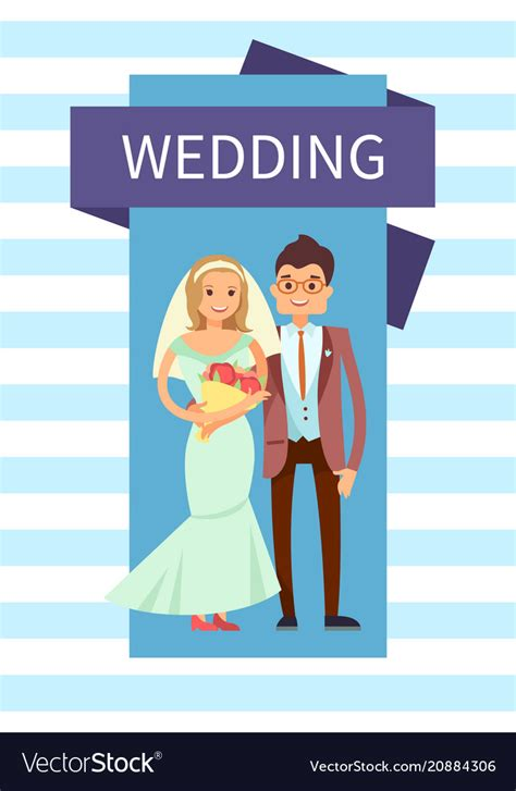 Wedding Banner Vector Free by Wedding And Groom Banner Royalty Free Vector Image