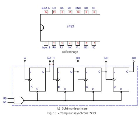 7493 ic pin diagram 7493 counter circuit diagram 7493 free engine image for