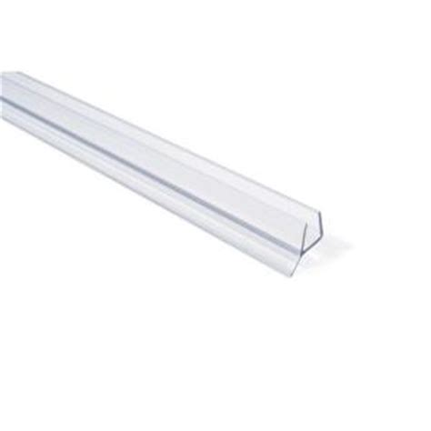 Frameless Shower Door Seal by Showerdoordirect 98 In L Frameless Shower Door Seal For 3