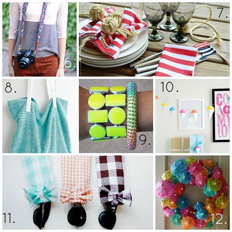 diy summer craft projects the best summer diy projects a thrifty mrs