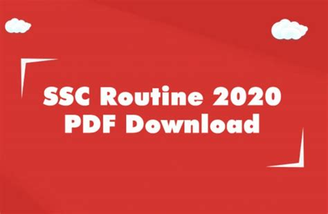 ssc routine     board bangladesh oracle globe