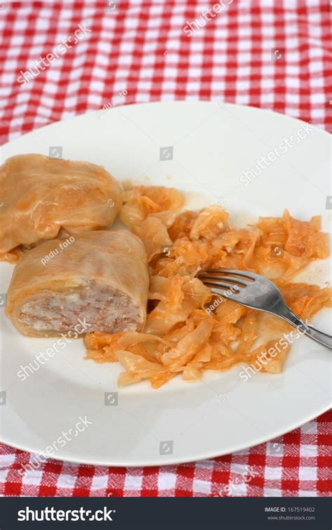 Traditional Pigs In A Blanket by Traditional Serbian Dish Called Sarma Cabbage Roll