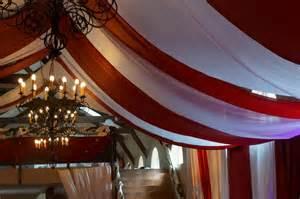 decoration plafond salles tentures salles mariage