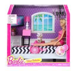 Barbie Bedroom Buy Barbie Deluxe Bedroom With Doll Asst Cfb63 Online In