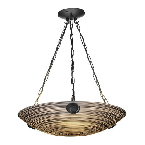 black ceiling light swirl pendant uplighter black glass on