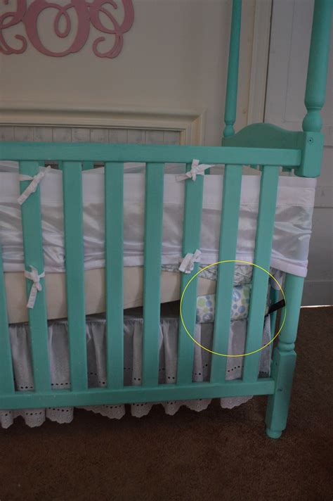 Elevating Crib Mattress What A Nursery Looks Like After 6 Months A Farmhouse Reborn