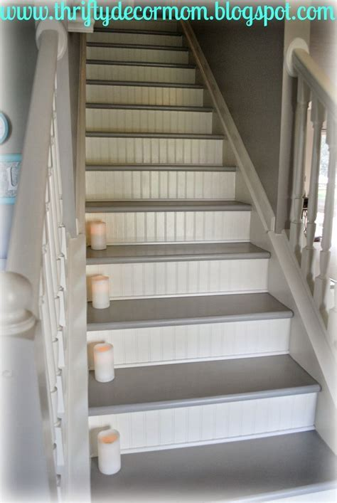 Best 25  Painted wood stairs ideas on Pinterest   Redo