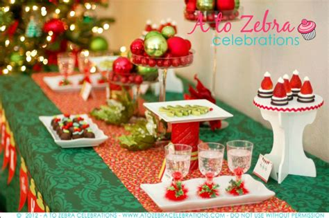 party themes holiday easy christmas party ideas strawberry santa hats