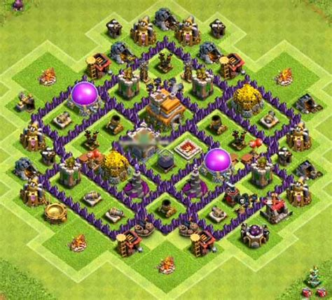 clash of clans th7 farming base best town hall 7 defense strategy top 16 best th7 farming base 2018 new update anti