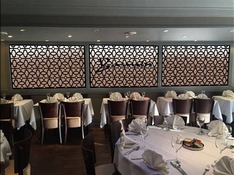 walls how to apply restaurant wall design for home laser cut screens for restaurants and bars custom designs