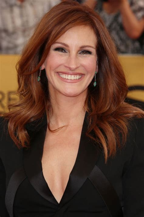julia roberts red hair hairstyles for thick hair a list inspo to fight that