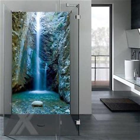 fliesenspiegel ersatz rueckwand dusche alu dibond motiv duschrueckwand