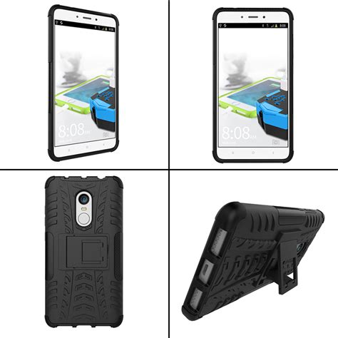 Xiaomi Redmi Note 4 Casing Cover Hybrid Armor Softcase Ipaky hybrid shockproof tpu pc armor stand holder back cover for xiaomi redmi note 4 sale