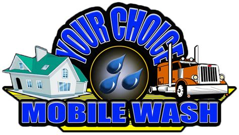 mobile wash solution chemistry clipart