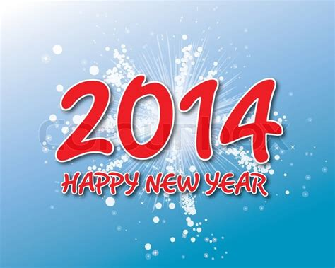 creative happy new year 2014 creative happy new year 2014 design vector illustration