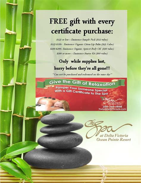 spa day gift certificate template 5 best and various