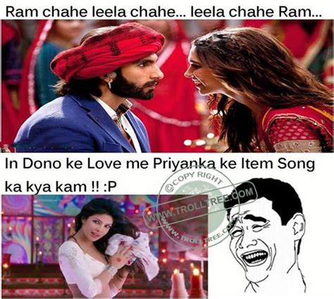 Indian Song Meme - the ramleela movie jokes trolltree share funny comments