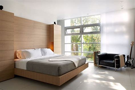 Furnished Bedroom Clean Modern Aesthetic Interiorzine