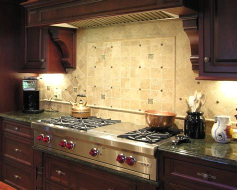 Backsplash In Kitchens by Kitchen Backsplash Designs Afreakatheart