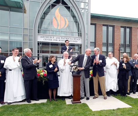 Providence College 4 1 Mba Program by Providence College Dedicates Center For Business