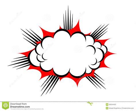 Foto Vector nube de la explosi 243 n vector fotos de archivo imagen