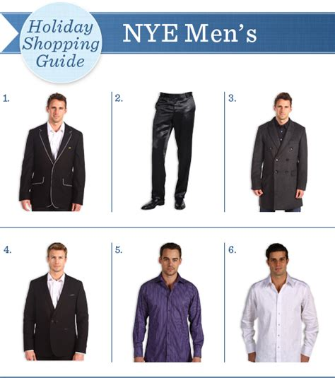 men s ideas for new years 2016