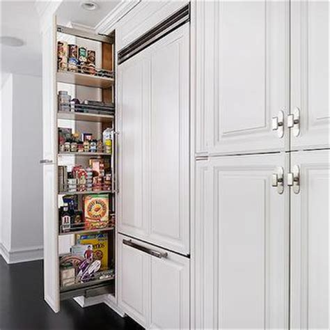 Floor Pantry Cabinet Floor To Ceiling Pull Out Pantry Cabinet Design Ideas