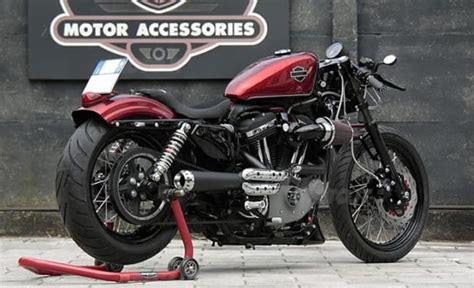 hd pavia caf 232 racer sportster by hd pavia moto custom