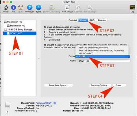 format exfat mac el capitan exfat file system driver
