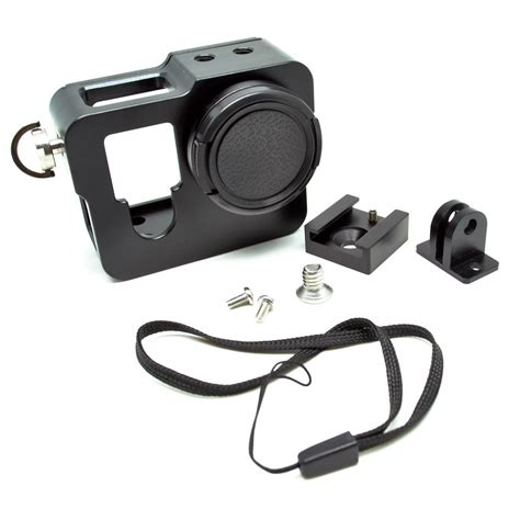 3rd Aluminium Wranch Black For Gopro aluminium 3rd protective for gopro 4 black jakartanotebook