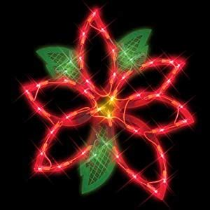 how to make a christmas yard poinsettia lighted impact innovations lighted window decoration poinsettia decorations