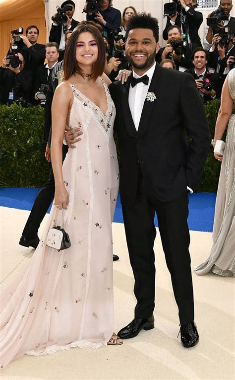Awards Galas Crowd Pre Globes Weekend by Selena Gomez And The Weeknd From 2017 Met Gala Carpet