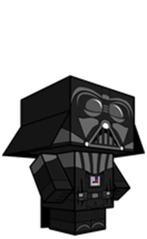 Papercraft Darth Vader - darth vader 187 cubeecraft free papercraft toys