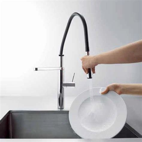 kwc ono kitchen faucet kwc ono highflex single hole side lever faucet 10 151 423