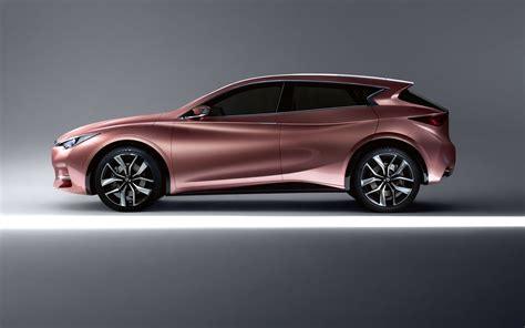 gold infiniti car infiniti q30 concept future vehicles infiniti canada