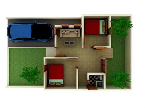denah rumah dan interior 3d tipe 36 desain denah rumah terbaru denah rumah minimalis
