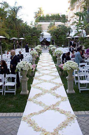 wedding aisle on grass grass wedding ceremony wedding