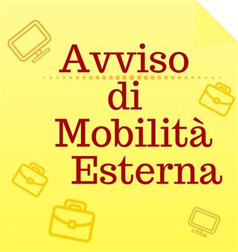 avviso di mobilit 224 esterna volontaria collaboratore