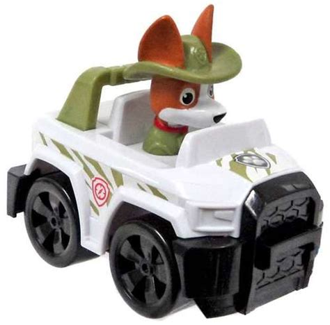 Paw Patrol Racer Tracker In Jeep Figure Figure Does Not