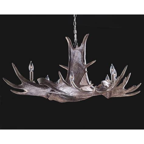 moose antler chandelier manitoba faux moose antler chandelier