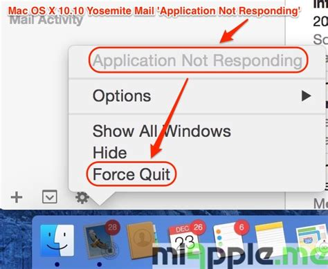 Applied For References Not Responding Fixing Mac Os X 10 10 Yosemite Mail Not Responding