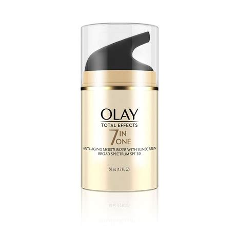 Olay Spf 30 olay total effects anti aging daily moisturizer spf 30