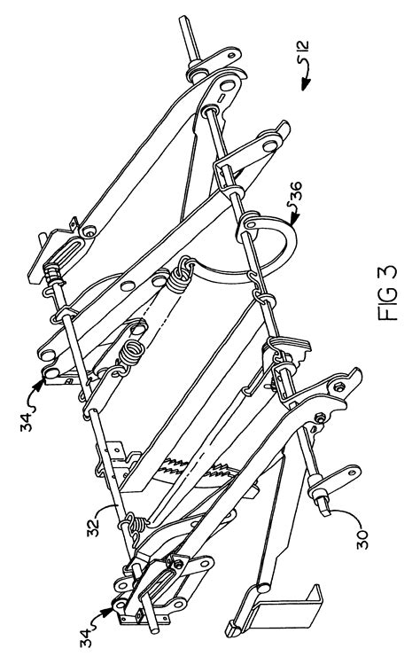 how to repair a recliner mechanism patent us6655732 multiple position leg rest mechanism