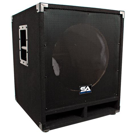 empty plastic speaker cabinets seismic audio empty 15 inch pro audio subwoofer cabinet