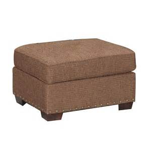 Padded Ottomans Southport Spice Upholstered Ottoman Rcwilley Image1 800 Jpg