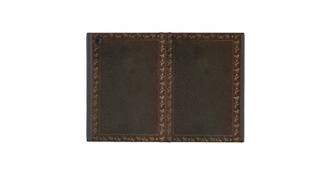 Covers For Leather by Embossed Leather Book Cover Covers For Mini Zazzle